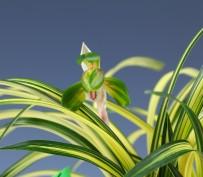 중압중투(무명)9촉 꽃 1경